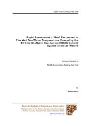 Rapid Assessment of Reef Responses to Elevated Sea-Water ...