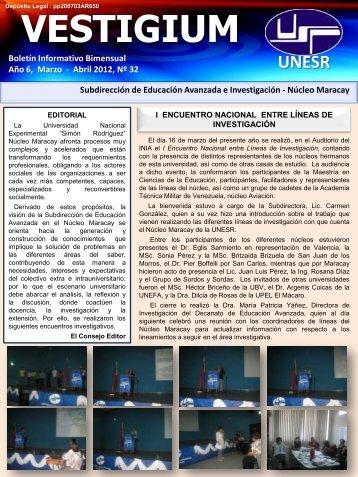 Año 6, Marzo - Decanato de Educación Avanzada - Universidad ...