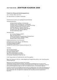 Protokoll der Sitzung des Preisgerichts vom 14.10.2008