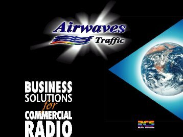 Web access to Airwaves Traffic for account managers - Radikal