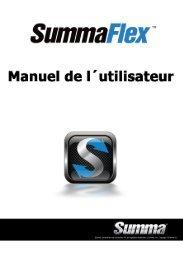 SummaFlex Manuel - Summa Online