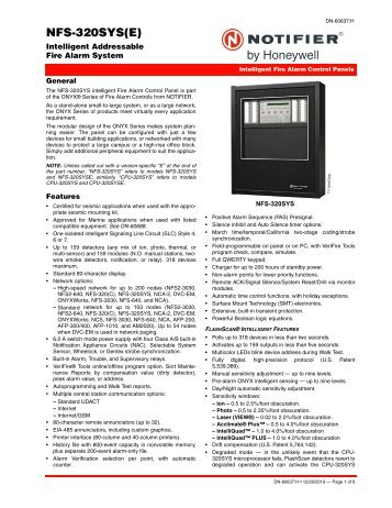 nfs 320sys e intelligent addressable fire alarm system notifier?quality=85 uoxxc s635 control unit accessories, system, fire alarm notifier notifier fcm 1 wiring diagram at mifinder.co