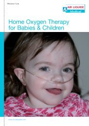 Home Oxygen Therapy for Babies and Children - Air Liquide UK