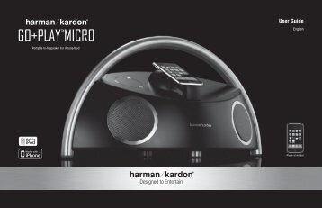 "GO+PLAYâ""¢MicrO - Harman Kardon"