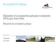 Consulter la présentation Powerpoint du 17 janvier 2013 - Chelsea
