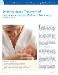 Evidence-Based Treatment of Gastroesophageal ... - Abbott Nutrition