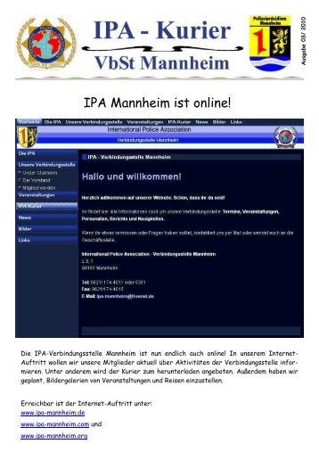 IPA-Kurier 03-2010 - IPA Mannheim