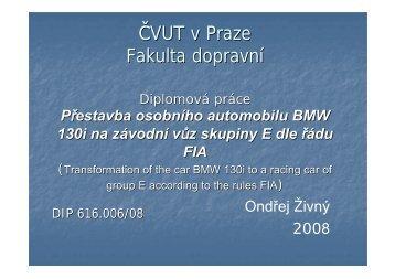 Ondřej Živný.pdf - Fakulta dopravní