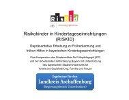 Landkreis Aschaffenburg - Arbeitsstelle Frühförderung Bayern