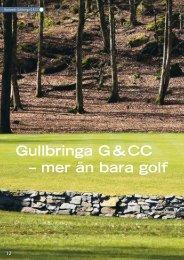Gullbringa G & CC – mer än bara golf