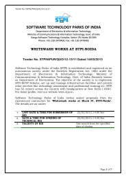 Software Technology Park of India, Noida - Software Technology ...