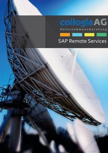SAP Remote Services