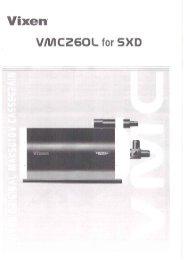 VMC260L for Sphinx SXD Mount - Vixen Optics
