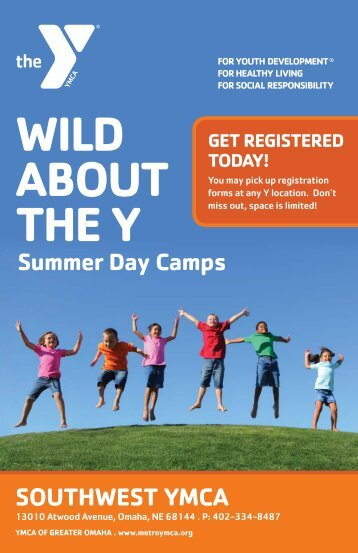SUMMER DAY CAMPS - Ymca