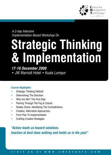 PDF Brochure - CMT Conferences