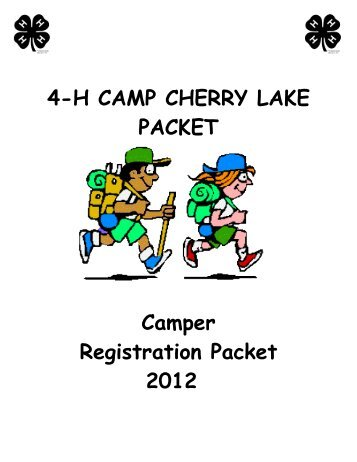 4-H Camp Release Form - Taylor County Extension