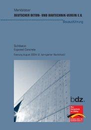 Bauausführung DEUTSCHER BETON- UND BAUTECHNIK-VEREIN ...