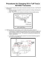 K92 Service Manual ( pdf) - Tuff Torq Parts