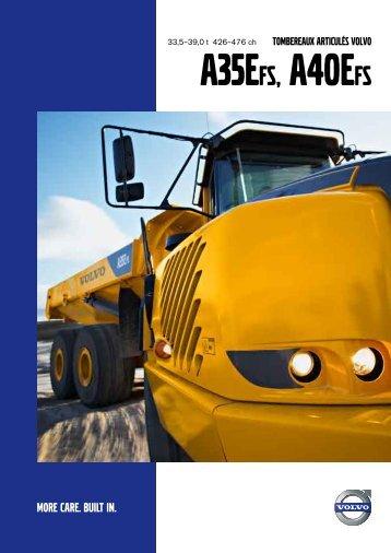 TOMBEREAUX ARTICULÉS VOLVO - Volvo Construction Equipment