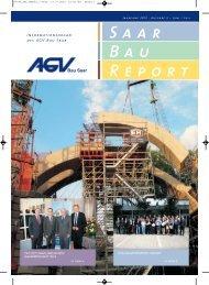 Saar Bau Report Nr. 3/2012 - AGV Bau Saar