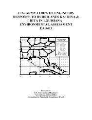 USACE Response to Hurricanes Katrina & Rita - NOLA Environmental