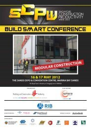 Build Smart Conference 2012 - Building & Construction Authority