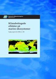Klimabetingede effekter på marine økosystemer, Faglig rapport fra ...