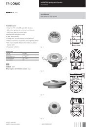 luxcontrol lighting control system DALI sensors DALI Msensor ...