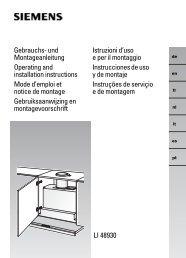 LI 48930 Gebrauchs- und Montageanleitung Operating and ...