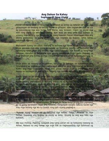 Ang Dahon Sa KahoyPosting - Languagelinks.org