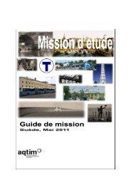 Document préparatoire de mission