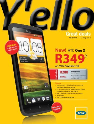 Valid from 1 - mtndeals.co.za