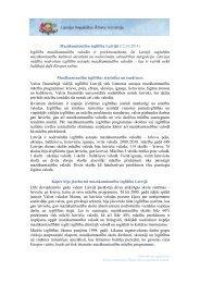 Mazākumtautību izglītība Latvijā - Latvijas Republikas Ārlietu Ministrija