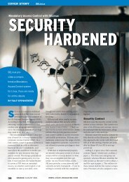 Mandatory Access Control with SELinux - Linux Magazine