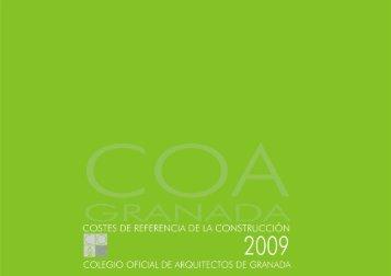 Costes de Referencia 2010 - Colegio Oficial de Arquitectos de ...