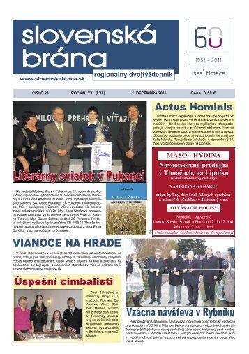 (8. a 9. str.) • Voľné pracovné miesta  v SES - Slovenská brána