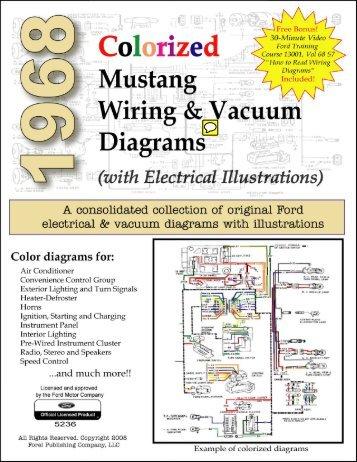 demo 1969 colorized mustang wiring and vacuum diagrams rh yumpu com 1968 Mustang Backup Light Wiring Diagram 1968 Mustang Ignition Switch Wiring Diagram