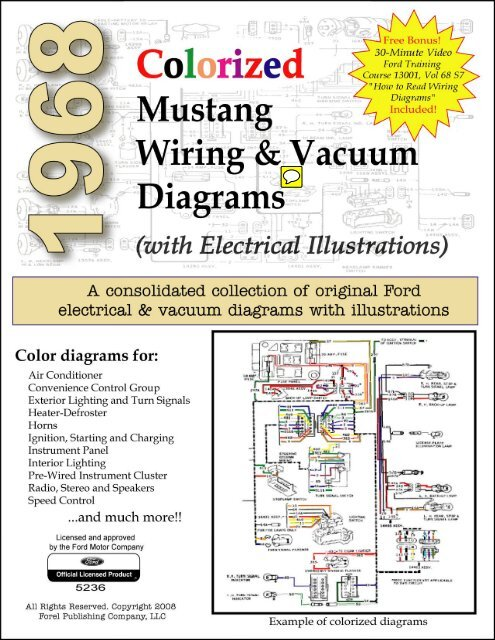 1968 Mustang Wiring And Vacuum Diagrams Forelpublishing Com