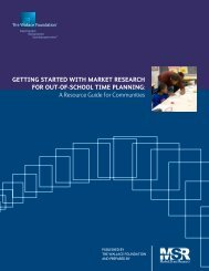 Getting Started With Market Research for OST Planning