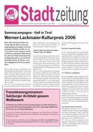 Lintner Böden PVC - PARKETT - TEPPICH ... - in Hall in Tirol