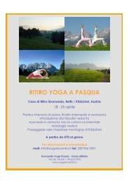 RITIRO YOGA A PASQUA - Sivananda Yoga Firenze