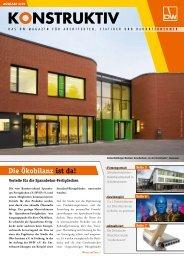 Kundenmagazin KONSTRUKTIV - DW Systembau GmbH