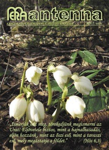 2009 1. szám - Magyar Evangéliumi Rádió
