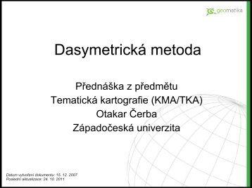 Dasymetrická metoda
