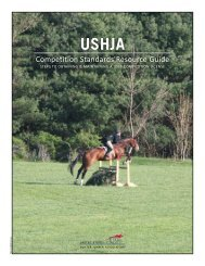 Competition Standards Resource Guide - ushja