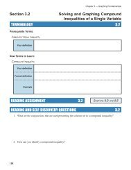 3-5 Compound Inequalities Worksheet #l Name Date Per Write a