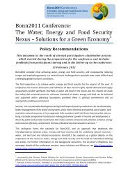 Download document - The Water, Energy and Food Security Nexus