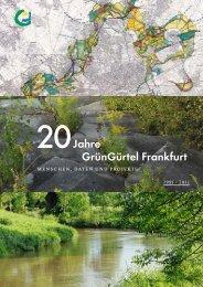 20 Jahre GrünGürtel Frankfurt - Frankfurt am Main