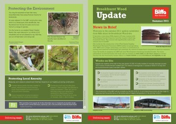 Summer 2011 newsletter - Biffa