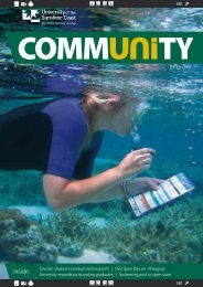 Edition 2, 2011 (PDF 900KB) - University of the Sunshine Coast